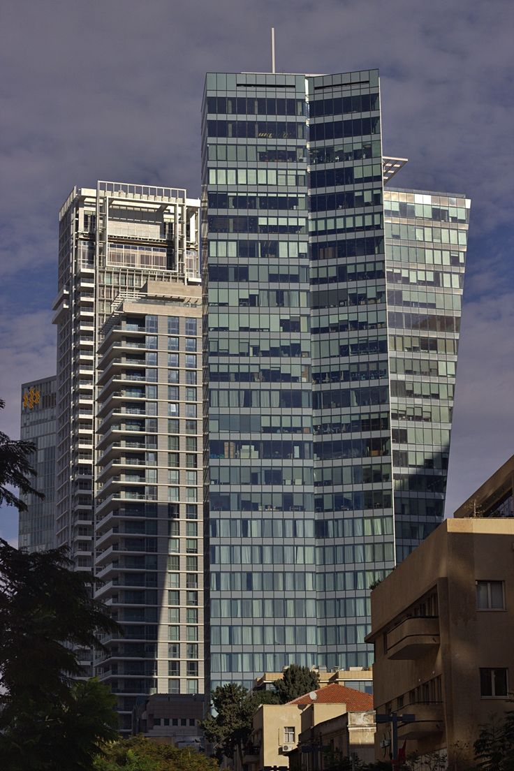 High rise in central Tel Aviv