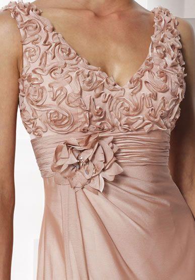 Sleeveless designer mother of bride dress moncheri 2012