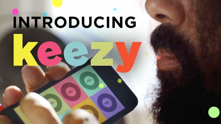 Introducing Keezy. Free in the App Store: http://appstore.com/keezy More info at http://keezy.net  Performer: Reggie Watts http://reggiewatt...