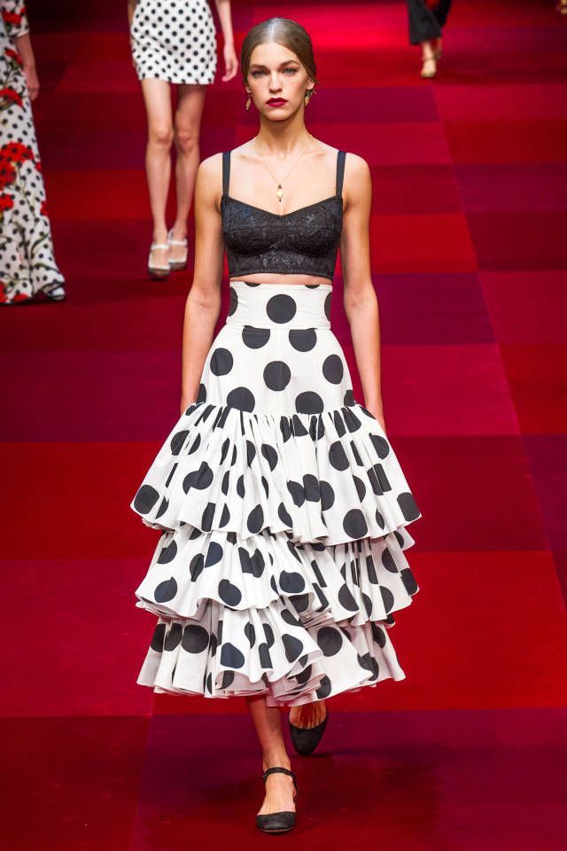 Dolce & Gabbana Spring 2015. See all the best looks here.