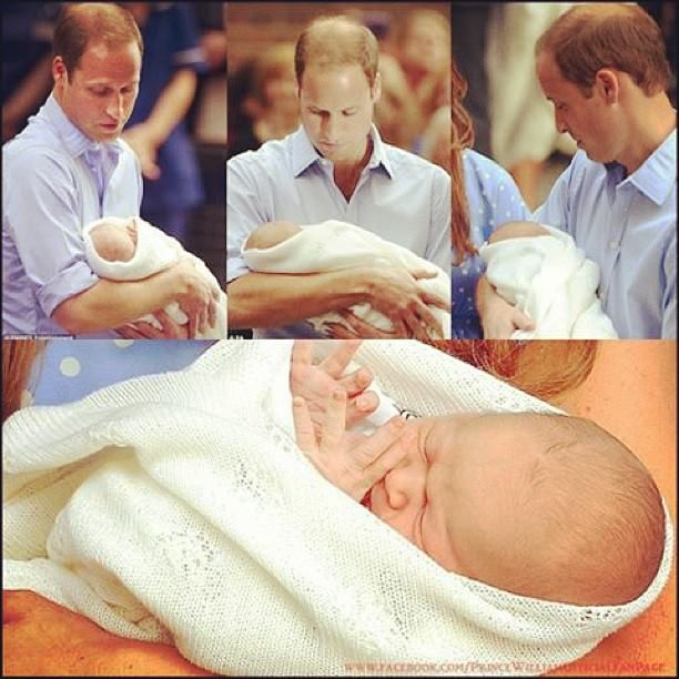 Prince George Alexander Louis and dad