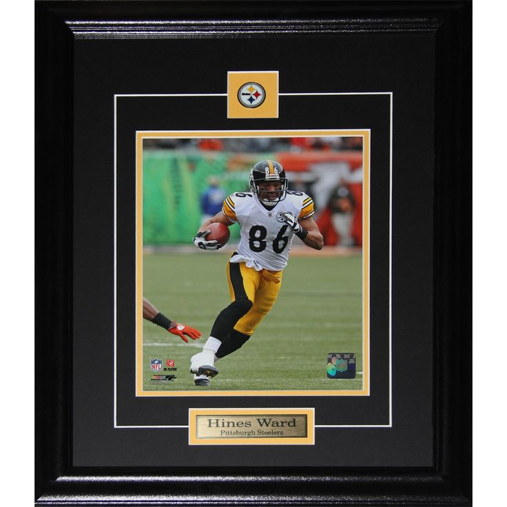 shop for hines ward pittsburgh steelers frame get free shipping at your online collectibles outlet store get in rewards with club o