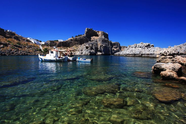 St Pauls Bay Lindos Rhodes Greece by Ollie Taylor on 500px