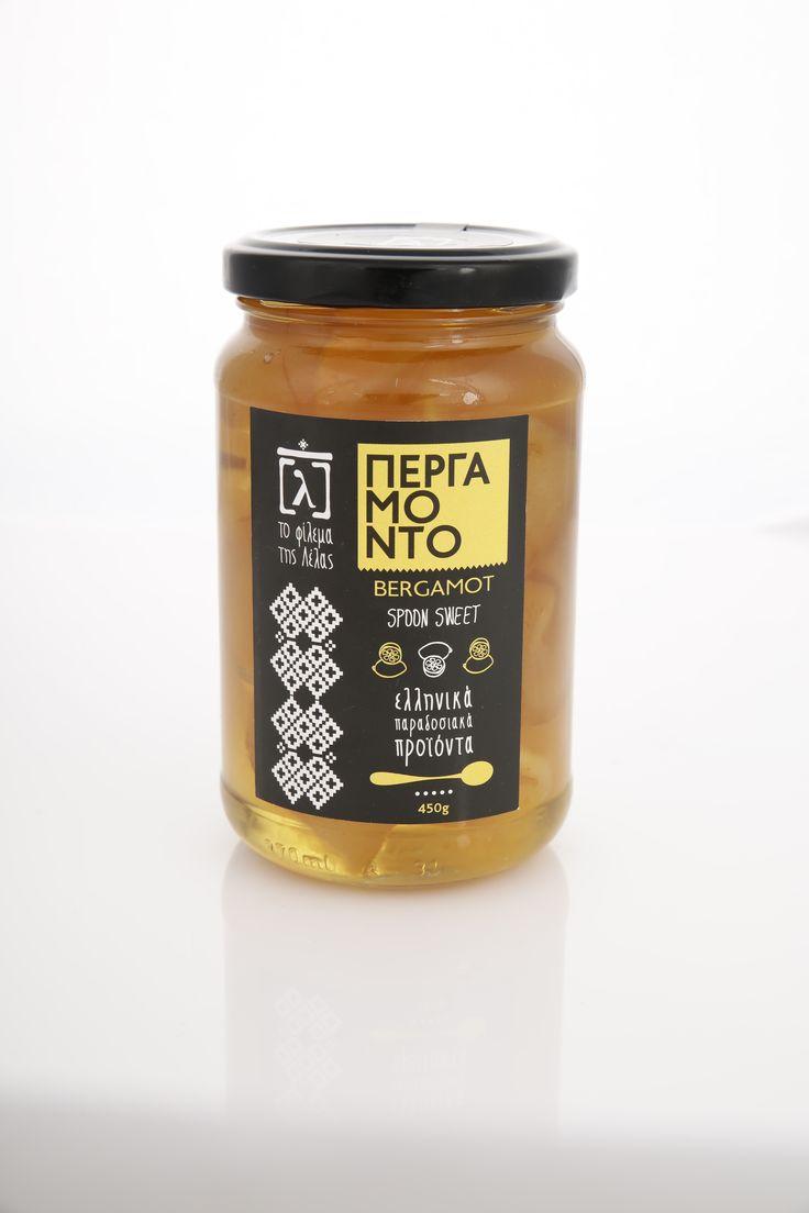 Traditional preserve bergamot from Kiato-Greece.