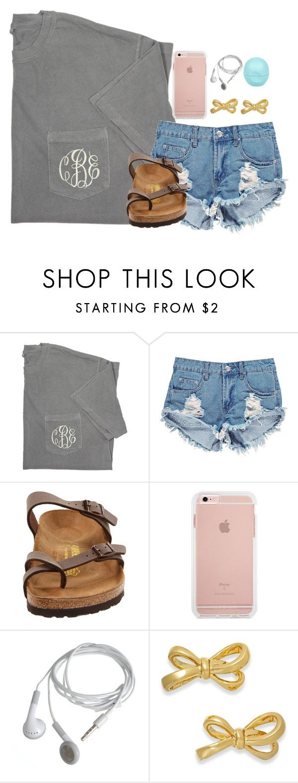"""Got a new Vera Bradley wallet the other day"" by mmprep ❤ liked on Polyvore featuring Boohoo, Birkenstock, Kate Spade and River Island"