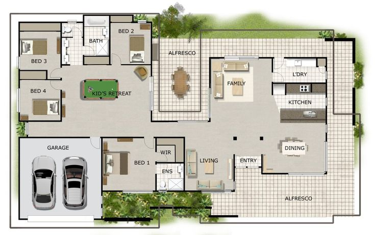 homestead floor plan - Google Search
