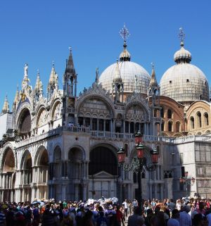 Saint mark's basilica or basilica di san marco, V, Italy, Europe
