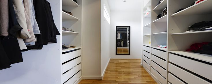 Как планировать встроенные шкафы