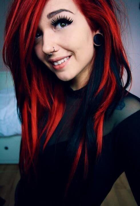Ms de 25 ideas increbles sobre Peinados chica emo en