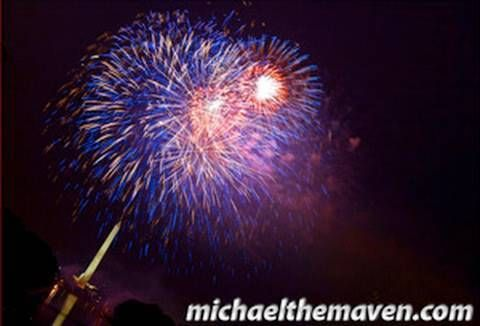 How to shoot fireworks.