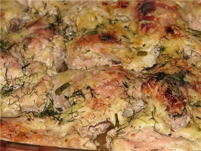Изумительная курица, маринованная в кефире и запеченная в духовке - be1issimo.ru