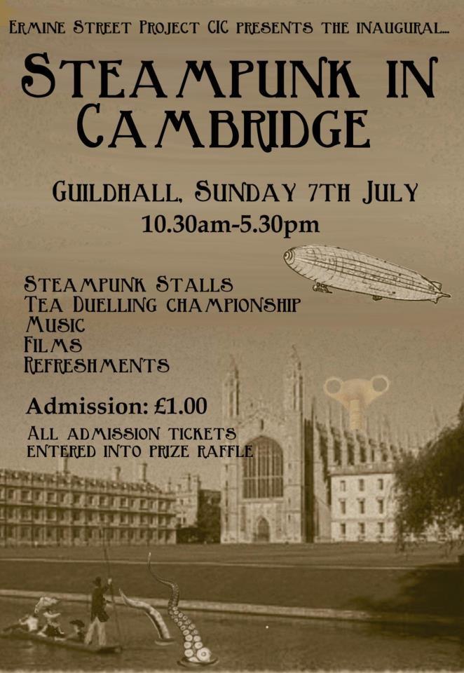 Steampunk in Cambridge!