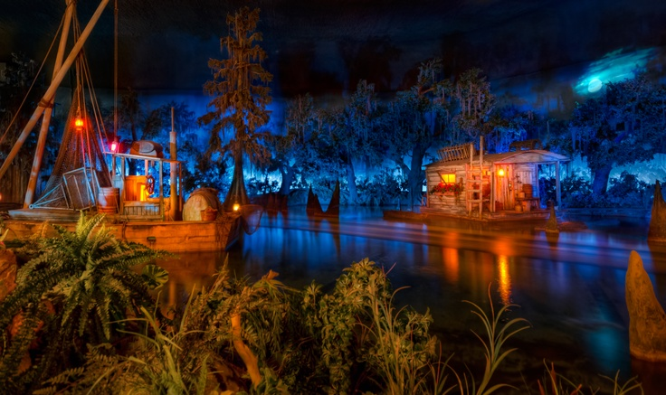 Blue Bayou Restaurant Inside Pirates Of Caribbean At