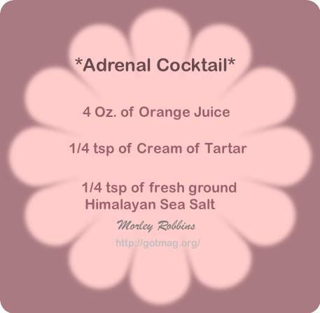 Adrenal cocktail