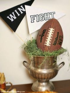 Stress Free Football Party + $5000 Fan Cave Sweepstakes - Celebrations at Home