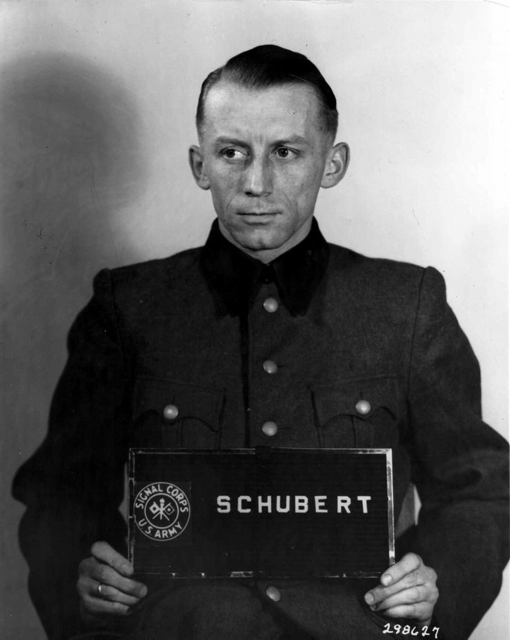 Heinz Schubert, one of the SS commanders of the Einsatzgruppen, the killing squads unleashed upon the eastern territories in 1941, poses for his pre-trial photo. He was sentenced to death but later the sentence was disgracefully commuted to 10 years in prison. He died in his bed, a free man, in 1971.