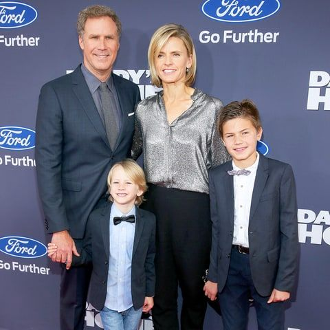 Will Ferrell, Viveca Paulin, Magnus and Mattias