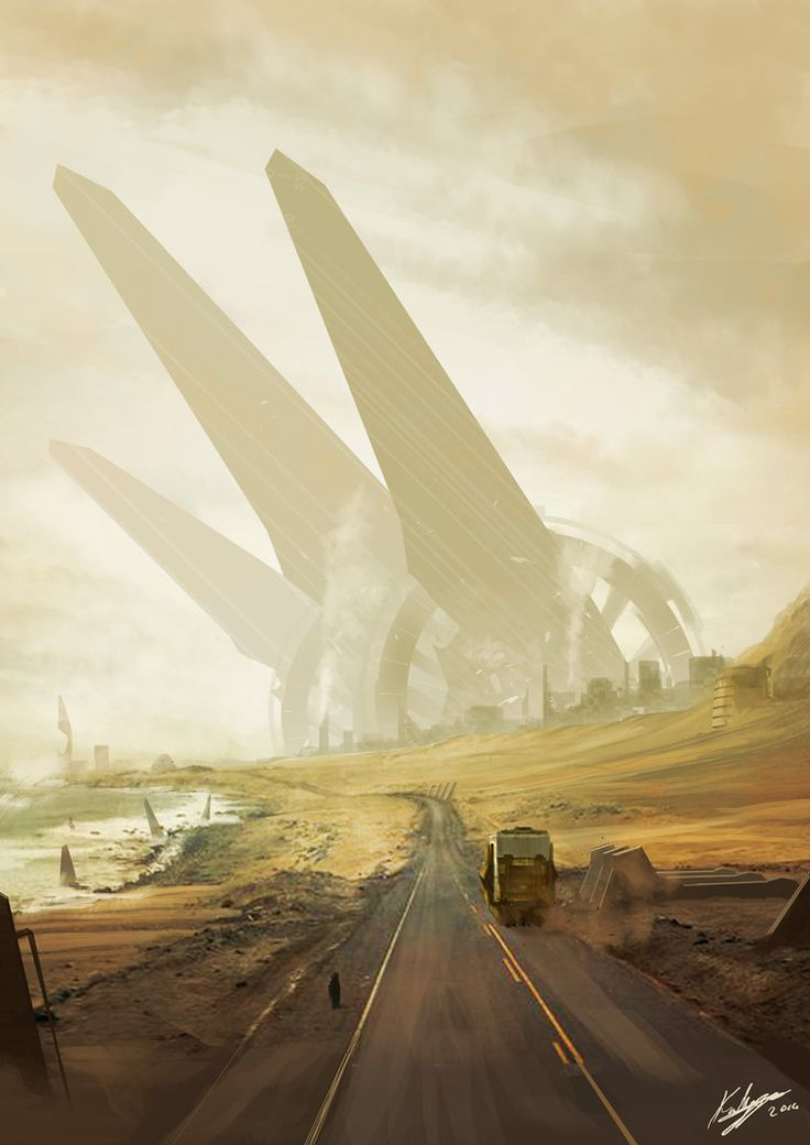 335 best fantasy and apocalyptic art images on pinterest science one way to dustcity by kailyze on deviantart fandeluxe Gallery