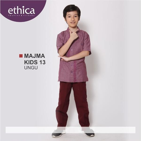 Jual beli Baju Muslim Anak Koko Majma Kids 13 Ungu - Size 9 - BIG SALE di Lapak Aprilia Wati - agenbajumuslim. Menjual Busana Muslim Anak Laki-Laki - WAJIB DIBACA: PASTIKAN STOK READY SEBELUM TRANSAKSI !!!!!!!!!! Pesanan akan dikirim berdasarkan stok yang ready saja  Baju Muslim Anak Koko Majma Kids 13 Ungu Kode :MAJMA KIDS 13 UNGU BAHAN : ATASAN KATUN CRV; CELANA BABY CANVAS  READY : SIZE 1 & 9  Size & Harga: No.1 : 164.500 No.2 : 174.500 No.3 : 184.500 No.4 : 191.500 No.5 : 198.500 ...