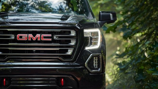 2019 Gmc Sierra At4 Off Road Pickup Truck Led Headlamps Gmc