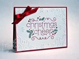 Cheerful Christmas - Stampin Up Holiday Catalog - Can it get any easier?