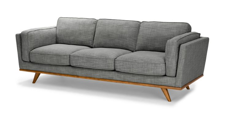 Timber Pebble Gray Sofa - Sofas - Article | Modern, Mid-Century and Scandinavian Furniture