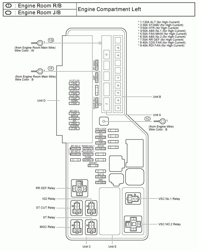 1998 toyota camry wiring diagram collection