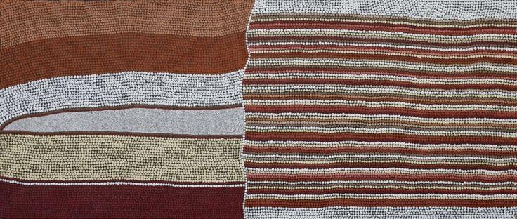 Land Lines, Amanda Westley 146x60 cm   #AboriginalArt