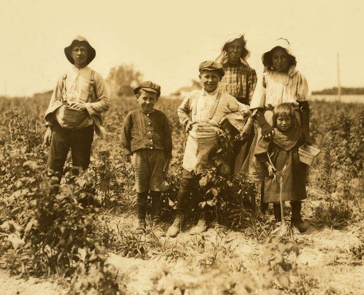 Детский труд в Америке в начале ХХ века