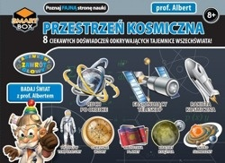 Prof. Albert Smart Box - przestrzeń kosmiczna | Młody astronom Młody naukowiec | Sklep Bystrogłów.pl - zabawki edukacyjne, zestawy naukowe, zabawki logiczne