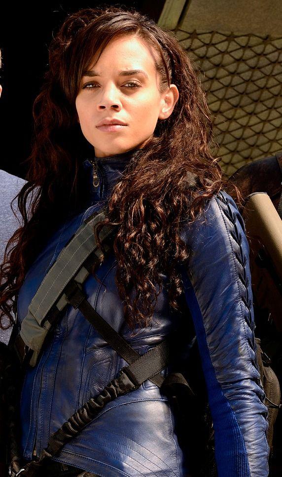 Killjoys Blue Leather Jacket