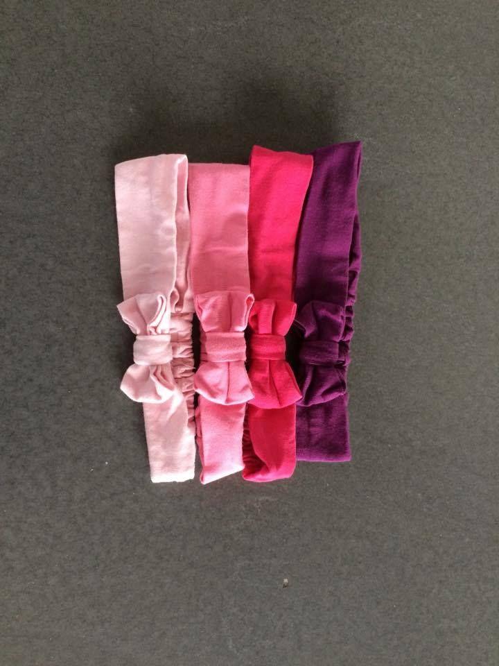 Süße Kinder-Haarbänder nach meinem Freebook, genäht von Sara: http://www.kreativlaborberlin.de/schnittmuster/haarband-mit-schleife-in-5-groessen-baby-bis-erwachsene/