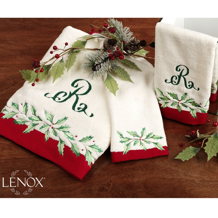 9 best Lenox Christmas Bathroom images on Pinterest ...