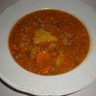 Fotografie receptu: Indická polévka z červené čočky