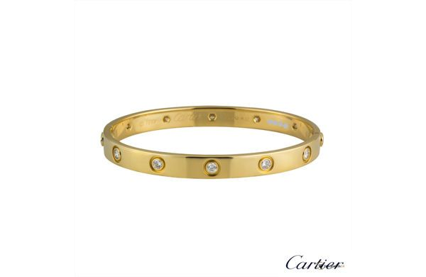 Full diamond LOVE bracelet by CARTIER, Armband, bangle, Armreif, popular jewelry, IT PIECE