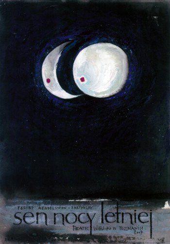 Midsummer Night's Dream, Polish Poster