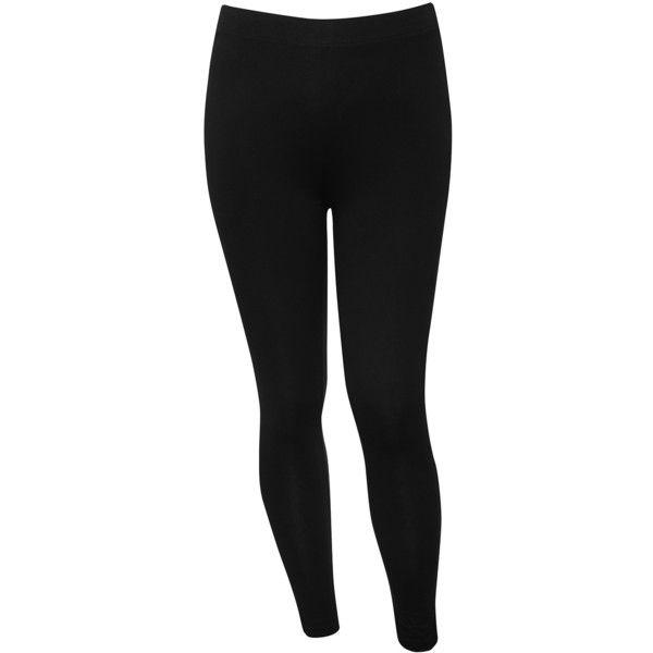 M&Co Plus Plain Leggings ($15) ❤ liked on Polyvore featuring pants, leggings, black, plus size, plus size pants, womens plus pants, plus size leggings, legging pants and full length leggings