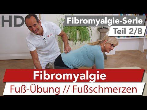 Fibromyalgie Übung // Fußschmerzen, Faser-Muskel-Schmerz - YouTube