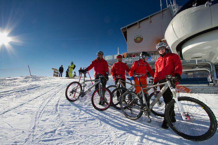 Bikes at 3000 meters!