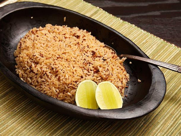 Arroz Con Coco (Coconut Rice) - had the authentic version in Colombia...so good!  Can't wait to try this out!
