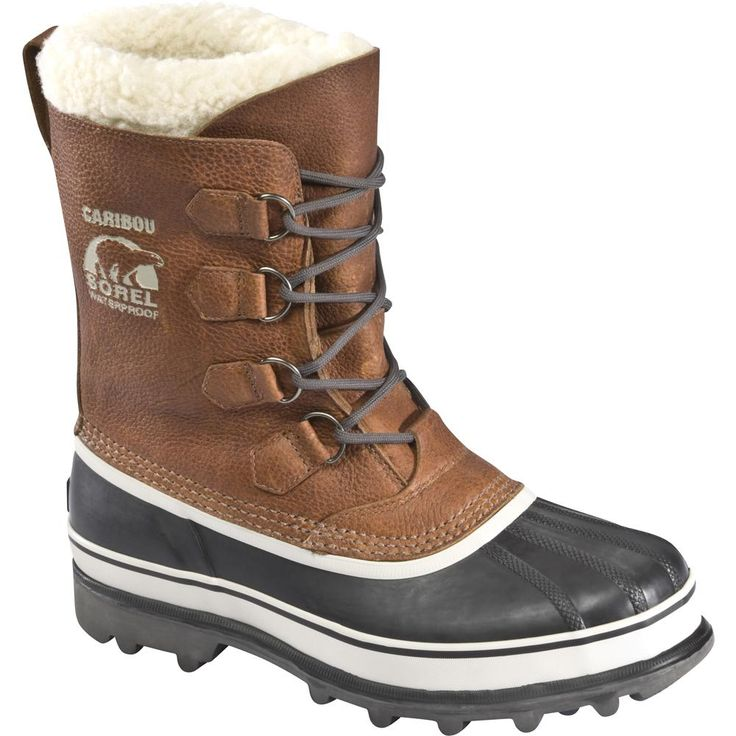 Sorel Caribou Boot in Tobacco (Men's) | Peter Glenn