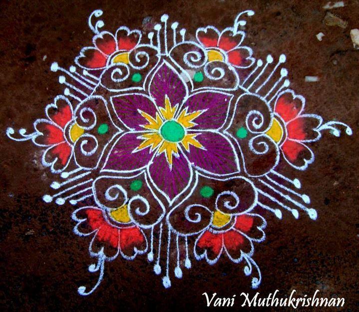 Pongal Kolam Designs