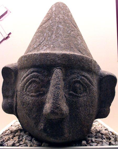 Hittite God. Boğazkale (Hattusa) Museum, Çorum city, Türkiye.
