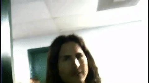 """GIF Brad Wilk and Chris Cornell From Audioslave 's """"Your time has come"""" videoclip 2005"""