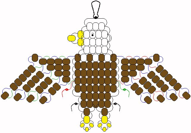 eagle pony bead pattern | Materials: