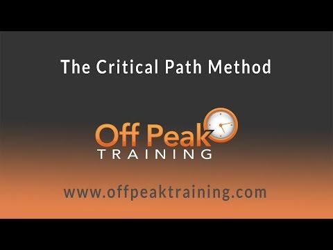 How to perform Critical Path Method (CPM) and find Float - YouTube