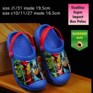 Sandal Anak Crocs Avenger Biru