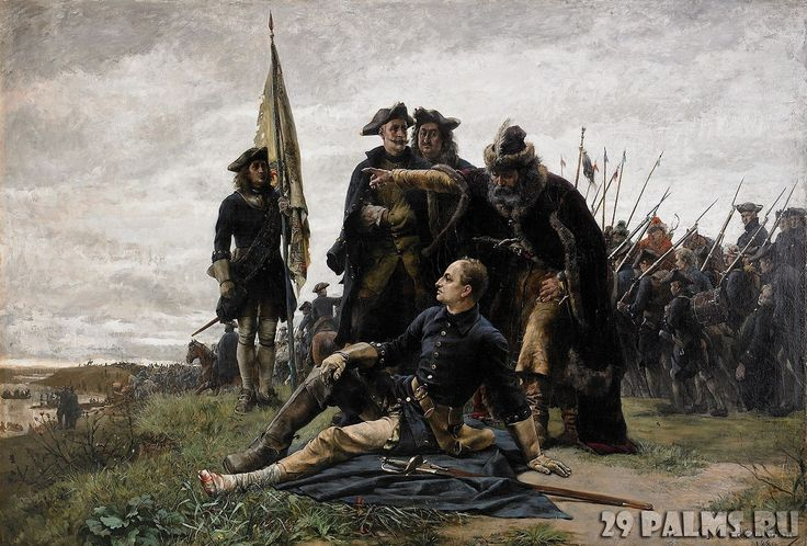 Charles XII of Sweden at the Battle of Poltava, Great Northern War