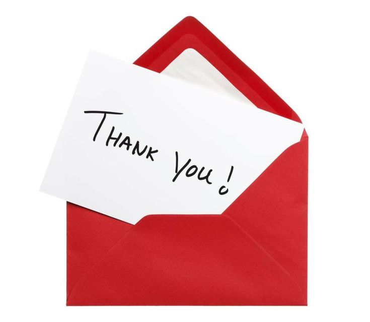 thank you cards for interviews