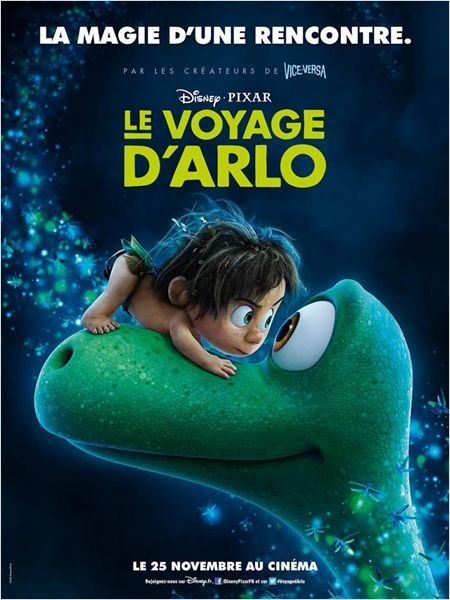 Le Voyage d'Arlo/The Good Dinosaur by Peter Sohn